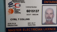 Master electrician for hire