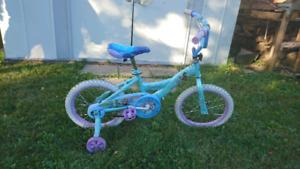Vélo reine des neiges