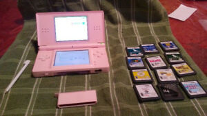 Nintendo DS Lite +  11 Games