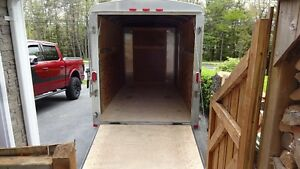 6x12 cargo enclosed trailer