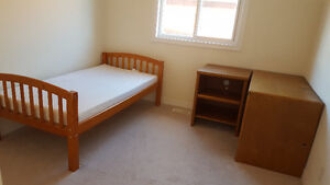 TABLE, CHAIR ,BED AND MATTRESS Peterborough Peterborough Area image 4