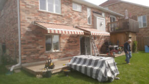 AWNINGS, sales, repair and recovers.