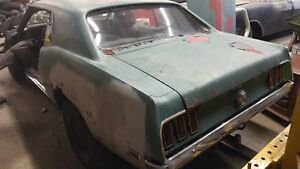 1969 FORD MUSTANG COUPE..PARTS ONLY
