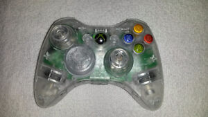 Clear *Completely Refurbished Microsoft Xbox 360 Controller