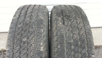 Selling 2 Michelin size 225 70 16 all season tires