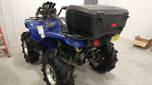 lifted 2007 grizzly 700 efi eps