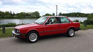 1987 BMW 3-Series 325e Coupe (2 door)