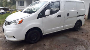 2015 Nissan NV200 with tech package