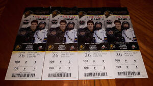 4 London Knights tickets for sale