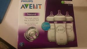 Avent Glass Bottles
