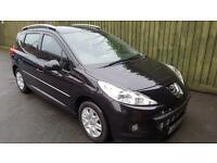 Peugeot 207 SW 1.6HDi Active. £20 TAX. GOOD SPEC. WARRANTY.