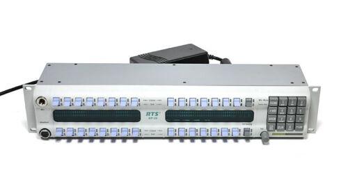 RTS Telex KP-32 Intercom Keypanel ADAM Cronus Zeus 90007656012 KP32 v.2.1.0 Blue