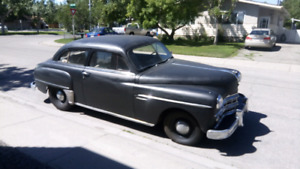 1949 Dodge 2 Door Coupe  Flat Head 6 cyl 3 spd  16000 miles