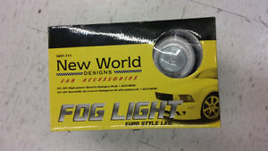 Fog Lights With Halo Rings