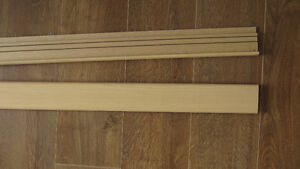 "NEW...Transition for Steps/Stair nose  2 Lengths 7'11"" ea."