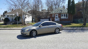 2004 NISSAN MAXIMA - $3,000 - SAFETY &ETEST - NEED GONE