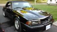 1989 5.0 Ford Mustang Convertible