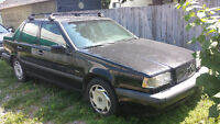 1995 Volvo 850 charcoal/black Sedan