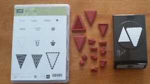 Stampin Up Pennant Parade with Coordinating Punch