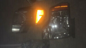 09-14 chrome head lights- mint