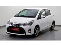 2016 Toyota Yaris 1.5 VVT-i Icon Petrol/Electric Hybrid white Automatic