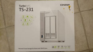 QNAP TS-231 NAS (Network Attached Storage) without disks
