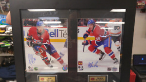 Montreal canadians signed pics