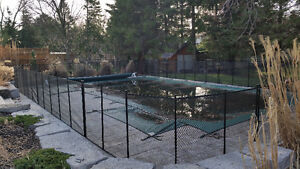 Removable,safety,pool fence $18.00/ft including installation