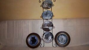 "Wolf Art, Bradford Exchange ""Collectable Fine Porcelain Plates Kitchener / Waterloo Kitchener Area image 6"