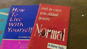 Five Self-Help Books by Dr. Murray Banks, 1950-60's Kitchener / Waterloo Kitchener Area image 2