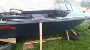 14' Boat with 25 hp Motor