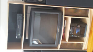 """IKEA TV/ENTERTAINMENT STAND-MINT COND With 27""""Free TV"""