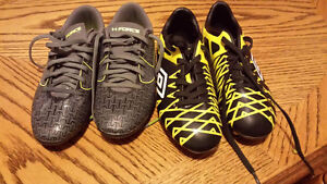 Boys soccer cleats. Size 13&1 Cambridge Kitchener Area image 1