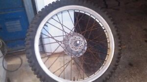 "akront  21"" rim vintage motocross dirt bike"