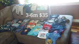 Designer (and) variety boy clothing 3-24mth
