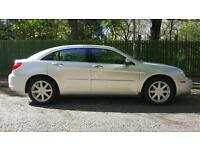 2008 08 Chrysler Sebring 2.0 CRD Limited 79000MLS MOT JAN 18 FSH 2 TONE LEATHER