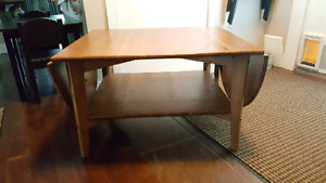 IKEA Leksvik Pine Living Room Table