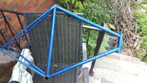 Road bike frame 58 cm Reynolds steel made in UK Campagnolo drops
