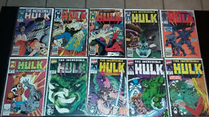 For Sale: Lot of Marvel Comics The Incredible Hulk