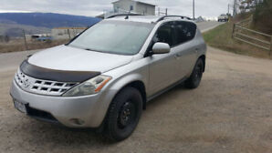 2004 Nissan Murano newer engine, trans and parts