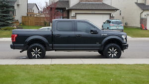 2015 FORD F150 Lariat LIFTED