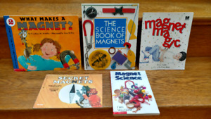 5 Magnets children's information books