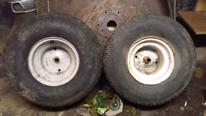 Mtd Lawn Tractor Rims and Tires 18x8-8 $20
