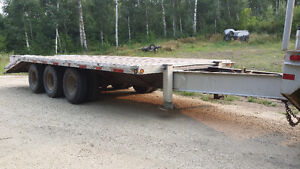 2006 SWS equipment trailer 30,000 lb load