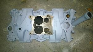 1967 chevy small block 327 intake manifold