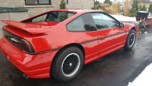 1988 Pontiac Fiero GT Rare!