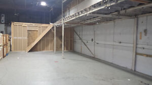 Warehouse space for rent at prime location
