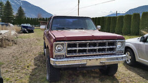 1980 GMC C/K 1500 Stepside Pickup Truck