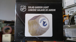 Vancouver Canucks Solar Garden Lights - NEW