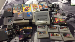 NES SNES N64 Gamecube systems and games